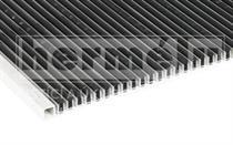 RIGA hliníková rohož na hrubé nečistoty 24 mm