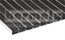 BONN hliníková rohož na hrubé nečistoty 19 mm