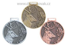 Medaile podle hodnocení CIC jelen č.846