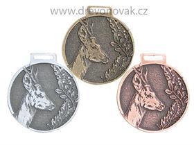 Medaile podle hodnocení CIC srnec č.842