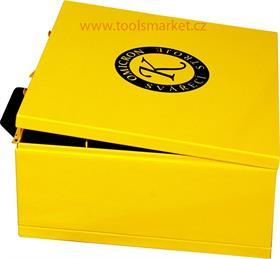 Kufr GAMA PFC a kabelů - žlutý