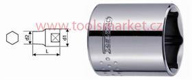 """TONA EXPERT E030950T Hlavice 3/8"""" DRIVE 21mm 6HR 1121"""