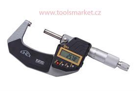 Mikrometr třmenový digitální 0-25 0.001mm DIN863 KINEX 7030