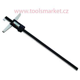 KINEX 2053.2 Hloubkoměr digitální s nosem monolitní ČSN251284 DIN862 200mm