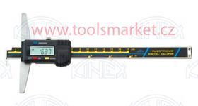KINEX 2052 Hloubkoměr digitální s nosem nonius ČSN251284 DIN862 200mm