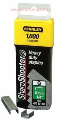 STANLEY 1-TRA705T Spony HD balení 1000ks 8mm typ-G