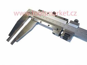 KINEX 6022.1.125 Posuvné měřítko oboustranné 800/125 0.02mm ČSN251234 DIN862