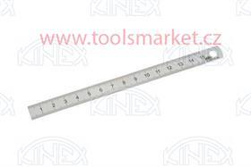 KINEX 1022 Měřítko ocelové tenké 300x25x1 INOX ČSN251125