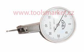 KINEX 1156 Úchylkoměr číselníkový páčkový ČSN251820 horizontální