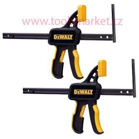 1 pár rychloupínacích držáků pro vodící lišty DeWALT DWS5026