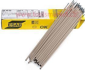 Elektroda E-B 123 5,0 x 450 balení 70ks 6,5kg ESAB bazická