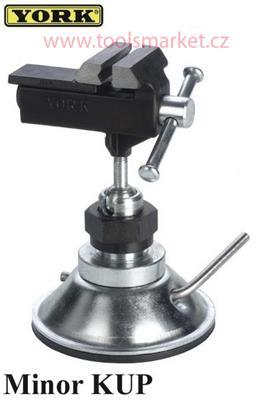 Svěrák kloubový mini Minor KUP YORK s přísavkou