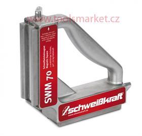 Vypínatelný svařovací úhlový magnet SWM 70 Schweißkraft