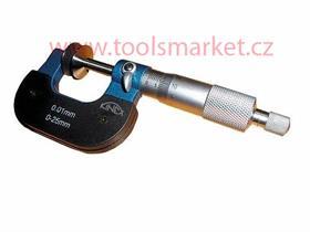 Mikrometr na ozubená kola 0-25 0.01mm ČSN251472 DIN863 KINEX 7051