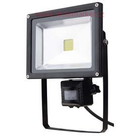 Reflektor LED MCOB 20W PIR HOME studená bílá EMOS