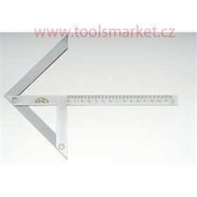 Úhelník středící 100x70/90 KINEX 4062