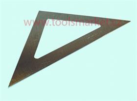 Trojúhelník ČSN255162 45° 250mm KINEX 4080