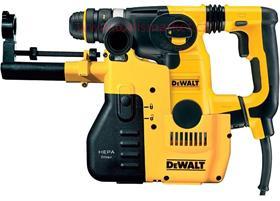 D25325K kombinované kladivo SDS-Plus 26mm nízké vibrace + sklíčidlo 13mm + odsávání prachu DeWALT