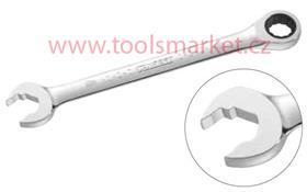 TONA EXPERT E110930T Klíč očkoplochý 14mm ráčnový