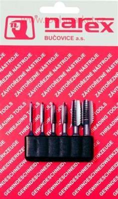 Závitník HSS souprava bit1 M 3-M 8 PN 8/3016 BUČOVICE 948100