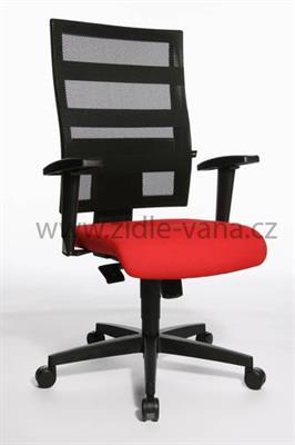 kancelářská židle X-PANDER T310 červená