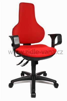 Kancelářská židle - Ergo Point SY - červená BC1