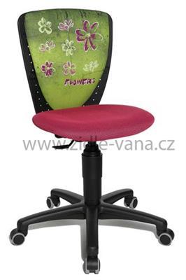 Dětská židle S'Cool NIKI Květy