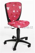 Dětská židle - S'Cool 3 Srdíčka