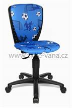 Dětská židle - S'Cool 3 Fotbal