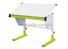 Dětský rostoucí stůl CETRIX - zelený