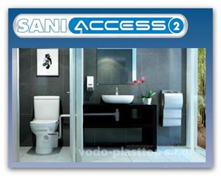 Saniaccess 2 kalové čerpadlo na WC a umyvadlo firmy SFA Sanibroy akce zima 2017!!