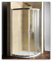 Sprchový kout Gelco 90x90 sklo Brick (AG4295) s vaničkou z litého mramoru