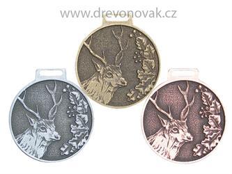 Medaile podle hodnocení CIC Jelen sika č.845