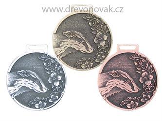 Medaile podle hodnocení CIC jezevec č.841