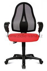 Kancelářská židle - OPEN POINT SY s plochým sedákem
