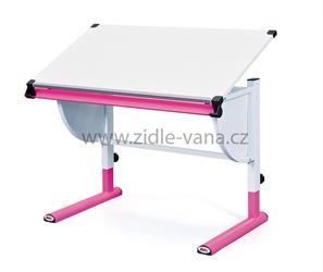 Dětský rostoucí stůl CETRIX - růžový