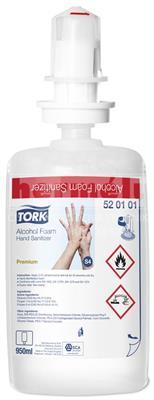 Pěnový dezinfekční prostředek TORK Premium Alcohol 950ml