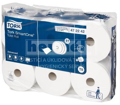 Toaletní papír SmartONE toaletní papír, 2 vrstvý, bílý, karton ( 6rolí )