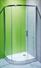 Sprchový kout asymetrický JIKA Tigo 100x80 stříbro-sklo transparent 2.5121.1.002.668.1