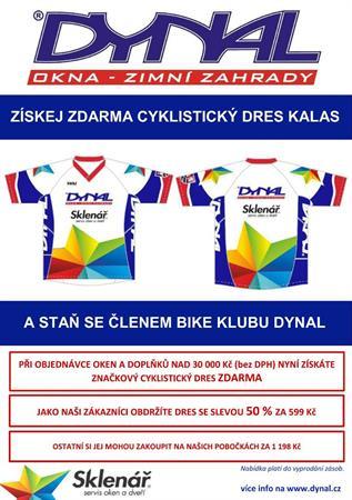 DYNAL_AKCE_ZDARMA_cyklistický dres