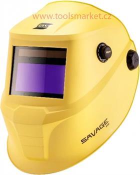 Kukla samostmívací ESAB SAVAGE A40 - žlutá