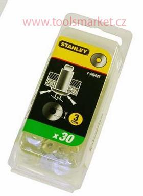 STANLEY 1-PBA6T Podložky pro nýty 5mm Alu 30ks