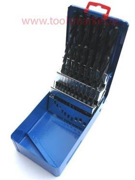 Sada vrtáků HSS 25dílná 1-13mm 221121