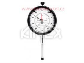 Úchylkoměr číselníkový KINEX 0-25 mm/60 mm/0,01 mm, ISO 46325, ČSN 25 1811, ČSN 25 1816