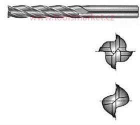 Fréza TK dvoubřitá extra dlouhá 6x38x100 TIALN MASTER 300-1000