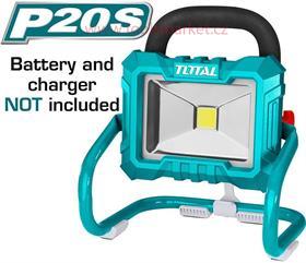 Světlo pracovní přenosné, 20V Li-ion, 2000mAh