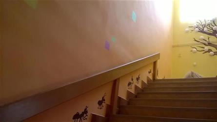 po schodišti nahoru  s mravenci