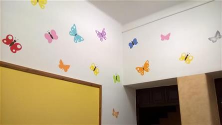 vstup motýlí voliéra